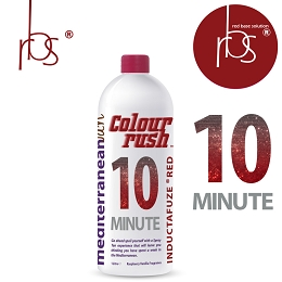 COLORRUSH™ 10 Min RED  Tan Inductafuze Liter