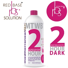 MediterraneanTan® 2 HOUR Dark - 20% DHA -INDUCTAFUZE® Red - RBS® 1L