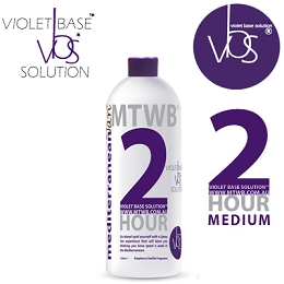 MediterraneanTan™ 2 HOUR Medium Sample - VBS® - Violet Base Solution™