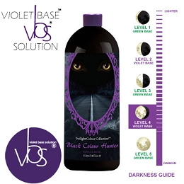 MTWB® Black Colour Hunter™ 1 HOUR Dark Level 4 - INDUCTAFUZE® Violet - VBS®