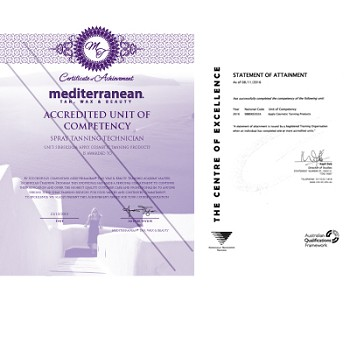 MediterraneanTan™ - Accredited Training Course